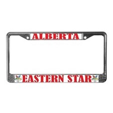 Alberta Eastern Star License Plate Frame