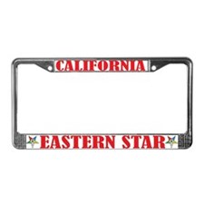 California Eastern Star License Plate Frame