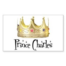 Prince Charles Rectangle Decal