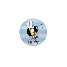 bee fit (striped) Mini Button (10 pack)