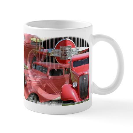 35 RED CHEVY Mug