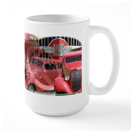 35 RED CHEVY Large Mug