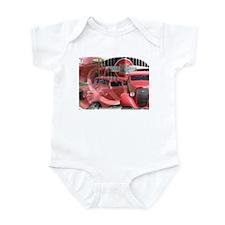 35 RED CHEVY Infant Bodysuit
