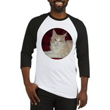'Pink' Maine Coon Cat Comfy Baseball Jersey