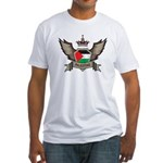 Palestine Emblem Fitted T-Shirt