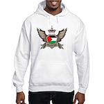 Palestine Emblem Hooded Sweatshirt