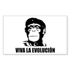 Viva La Evolucion Rectangle Decal