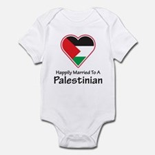 Happily Married Palestinian Infant Bodysuit