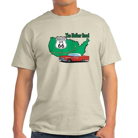 Mother Road Classic Car Light T-Shirt
