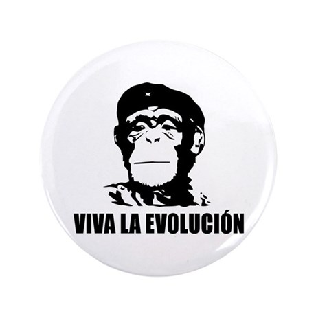 """Viva La Evolucion 3.5"""" Button"""