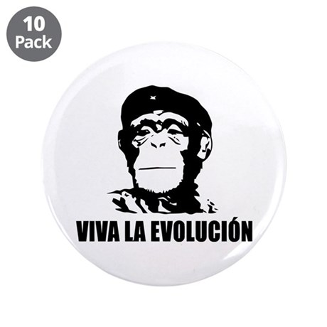 "Viva La Evolucion 3.5"" Button (10 pack)"