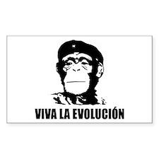 Viva La Evolucion Rectangle Decal