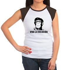 Viva La Evolucion Women's Cap Sleeve T-Shirt