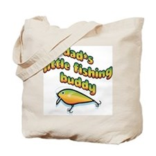 DAD'S LITTLE FISHING BUDDY Tote Bag