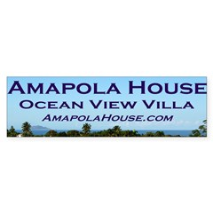 Amapola House in Rincon, PR Bumper Sticker (10 pk)