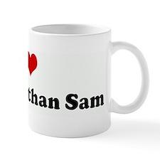I Love Tiff more than Sam Mug