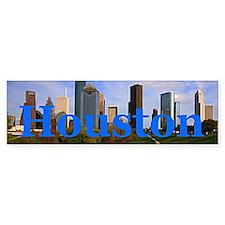 Houston Bumper Bumper Stickers