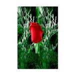 One Red Rose Mini Poster Print