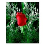 One Red Rose Small Poster