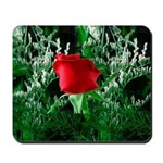 One Red Rose Mousepad