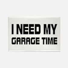 GARAGE TIME Rectangle Magnet