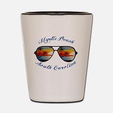 Cute Myrtle beach Shot Glass