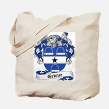 Grieve Family Crest Tote Bag