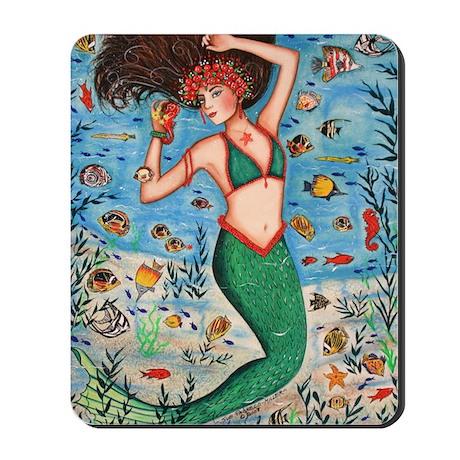 Sea Goddess Mousepad