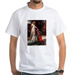 Accolade/Yellow Lab White T-Shirt