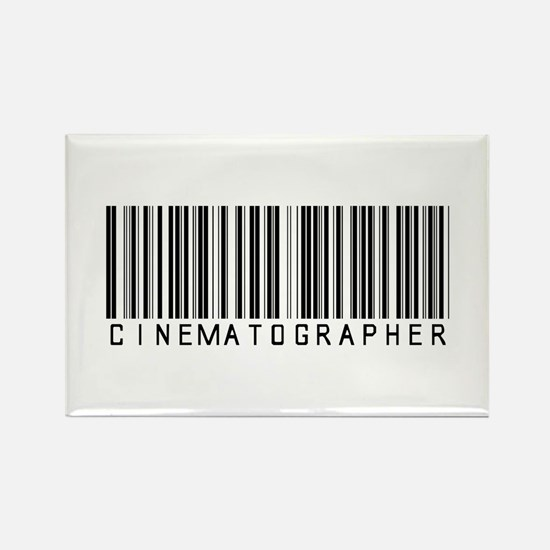Cinematographer Barcode Rectangle Magnet