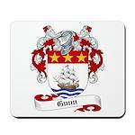 Gunn Family Crest Mousepad