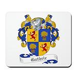 Guthrie Family Crest Mousepad