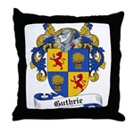 Guthrie Family Crest Throw Pillow