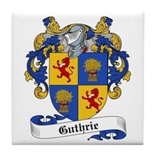 Guthrie Family Crest Tile Coaster