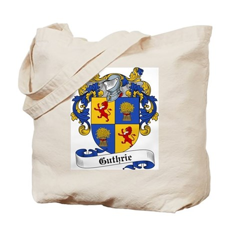 Guthrie Family Crest Tote Bag