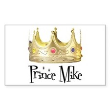 Prince Mike Rectangle Decal