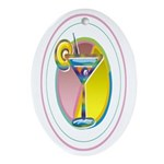 Martini Keepsake (Oval)