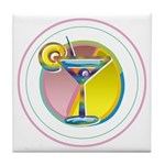 Martini Tile Coaster