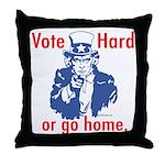 Pro Voting Throw Pillow