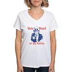 Pro Voting Women's V-Neck T-Shirt