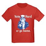 Pro Voting Kids Dark T-Shirt