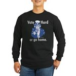 Pro Voting Long Sleeve Dark T-Shirt