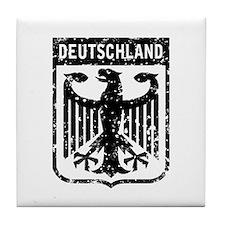 Deutschland Coat of Arms Tile Coaster