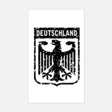 Deutschland Coat of Arms Rectangle Decal