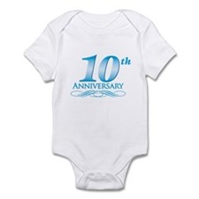10 Year Anniversary Infant Bodysuit