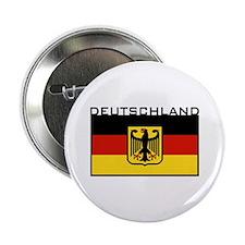 """Deutschland Flag 2.25"""" Button"""