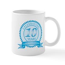 Celebrating 10 Years Mug