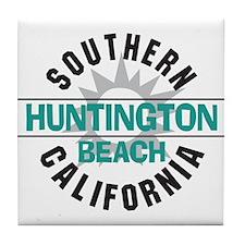 Huntington Beach California Tile Coaster