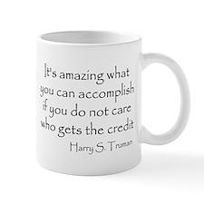 What you can accomplish Mug