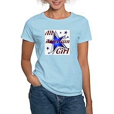 All American Girl Women's Pink T-Shirt